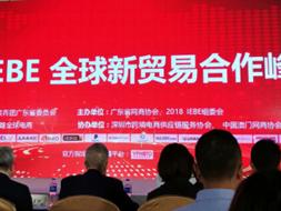 参加2018 IEBE全球新贸易合作峰会