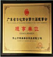 我司当选为广东省威廉希尔手机app下载商会理事单位