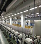 拥有近400台注塑机的注塑车间