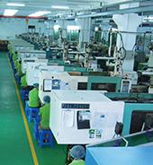 注塑车间—300余台自动化生产设备