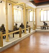 三椒口腔文化博物馆—历代牙具制作雕像
